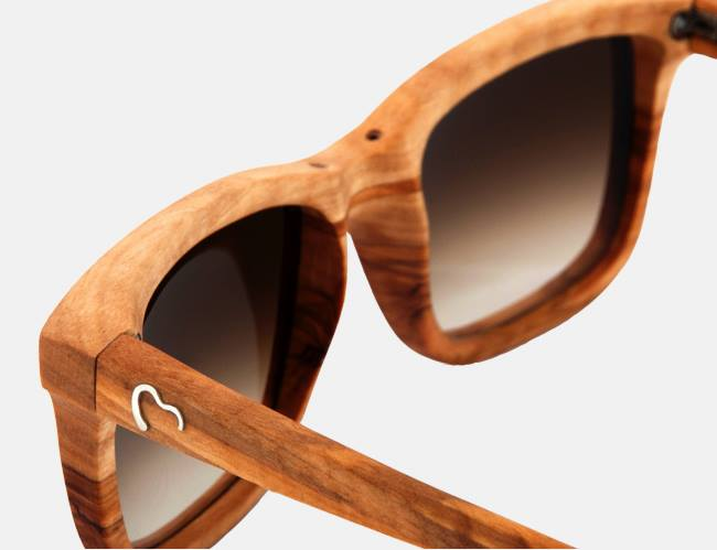 Marjo Wooden Sunglasses