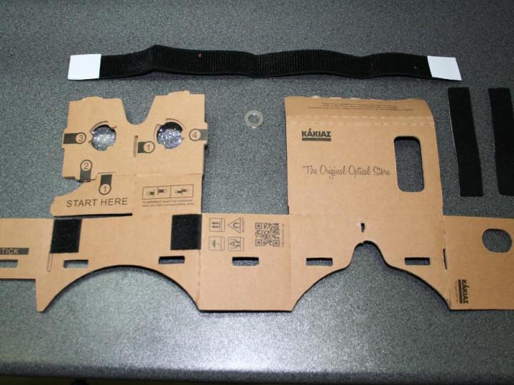 Cardboard γενικές οδηγίες
