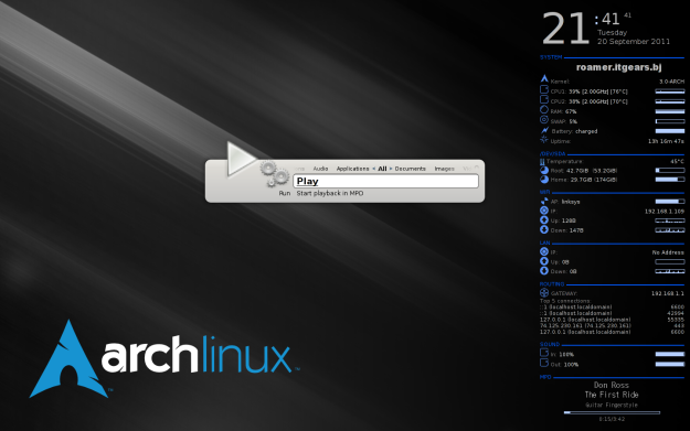 Talking Arch Linux