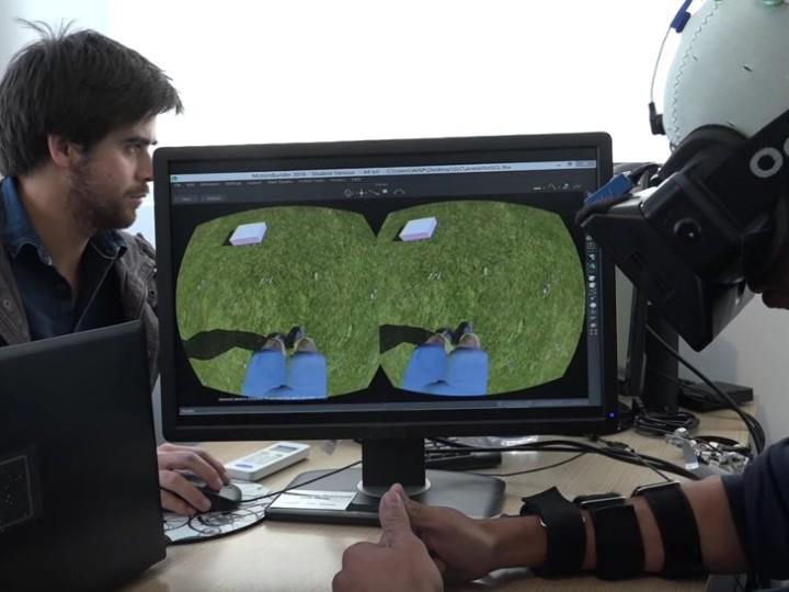 Walk Again project με την βοήθεια VR